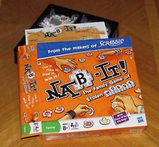 Nab It - Scrabble Crossword Game of Stolen Words - 2009 Hasbro - New in Open Box