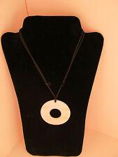 Fair Trade Handmade Blue Moon Women's Necklace (jewelry)