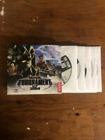 UNREAL TOURNAMENT 2004 - 6 Disc PC CD-ROM Game - NO MANUAL- NEAR MINT DISCS