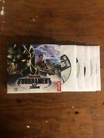 UNREAL TOURNAMENT 2004 - 6 Disc PC CD-ROM Game - NO MANUAL- NEAR MINT DISCS