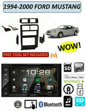 1994-2000 FORD MUSTANG DVD TOUCHSCREEN BLUETOOTH USB AUX STEREO PKG