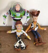 Vintage Toy Story , Buzz Woody & Jessie figures