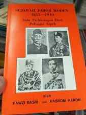 MALAYSIA Malaya Royal king 1855 1940 Throne Sultan Johore Johor Takhta Raja