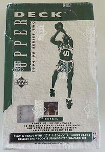 1994-95 Upper Deck Basketball Series 2 Retail Box