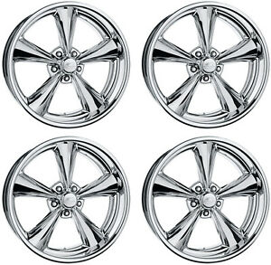 NEW BILLET SPECIALTIES MAG WHEEL SET,LEGENDS SERIES,POLISHED,STAGGERED,17X7,17X8