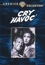CRY, HAVOC - (B&W) (1943 Margaret Sullavan) Region Free DVD - Sealed