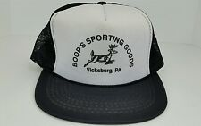 Vintage Boop's Sporting Goods Jumping Buck One Size Adult Snap Back Trucker Hat