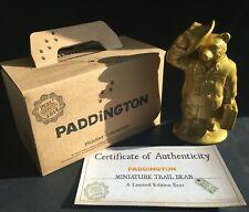 Rare Wade SIGNED Paddington Trail Bear - Goldie by Kate Moss (Box/Cert) Ltd Ed