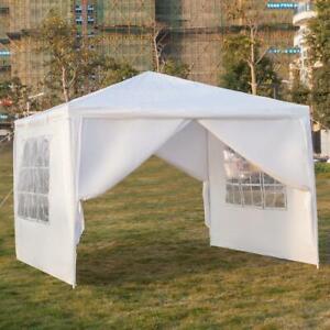3x3-3x9m Pavillon Partyzelt Wasserdicht UV-Schutz Gartenpavillon mit Seitenteile