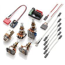 EMG- Solderless wiring kit- 1 or 2 pickups, Long shaft, w/push pull pot