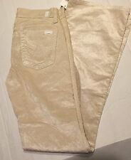 NWT Girls 7 Seven for All Mankind Khaki Cords Jeans 12