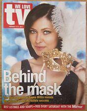 Emma Willis – We Love TV – 15 February 2014