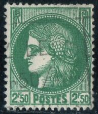 TIMBRE FRANCE  N° 375  TYPE CERES  Oblitere