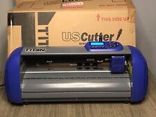 New Listinguscutter Titan Sac480i 15 Craft Hobby Vinyl Cutter Plotter Lightly Used