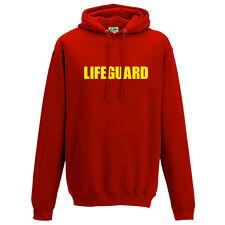 Lifeguard Printed Hoodie - Beach Fancy Dress Life Guard Party Unisex Hoody Top