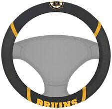 New NHL Boston Bruins Car Truck SUV Van Steering Wheel Cover