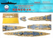 Chantier Naval 1/700 700059 Wood Deck IJN Kongo 1941 for Fujimi