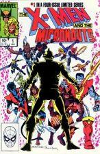 X-Men & the Micronauts (1984) #1 of 4