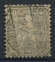 Schweiz 1881 Mi. 42 Gestempelt 20% 40 C, Helvetia sitzen