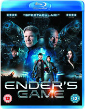 Enders Game Blu Ray (Harrison Ford) Disc Only No Case Or Cover