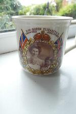 Solian Ware Mug 1953 Coronation Queen Elizabeth Royal Children Marcus Adams