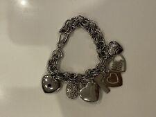 Moschino womens chunky bracelet charm watch (Live, Laugh, love)