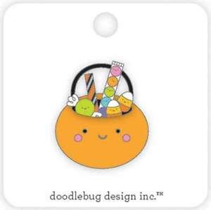 Doodlebug Collectible Enamel Pin Trick Or Treats 842715057708