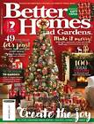 BETTER HOMES AND GARDENS BHG MAGAZINE CHRISTMAS ISSUE DECEMBER 2017 - NEW