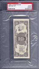 1962 Topps Baseball Bucks Ken Boyer MINT PSA 9 MC