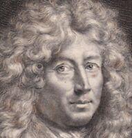 Portrait XVIIe Jean Varin Sculpteur Graveur Général Des  Monnaies De France