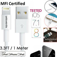 YELLOWKNIFE 8-Pin Lightning USB Charge Sync Cable for iPhone 6PLUS/5S/5c/iPad