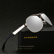 Retro Aviator Polarized Sunglasses Mirrored Driving UV400 Glasses For Men Women