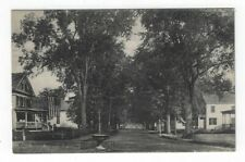 Brookline, New Hampshire,  Early View of Main Street Looking South
