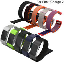Sports Nylon Loop Strap Bracelet Wristbands Watch Band For Fitbit Charge 2