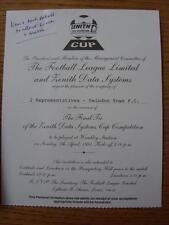 07/04/1991 miembros de pleno derecho [Zenith Data Systems] Cup Final: Crystal Palace V jamás