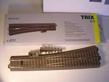 Trix HO C-Gleis 62711 Schlanke Weiche links Handbetrieb, Neuware.