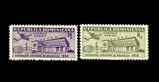 Dominican Republic. Fair Type. 1958 Scott C109-C110. MNH (BI#11)