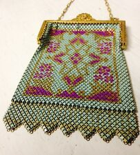 20s ART DECO vintage MANDALIAN metal MESH PURSE ** On SALE! **