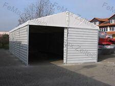 Lagerzelt Lagerhalle Trapezblechhalle 6x12m / 1 Schiebetor / Statik