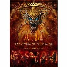 GAMMA RAY: hell yeah SUPER LIMITED 3 DVD SET NTSC