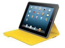 Logitech FabricSkin Clavier Folio pour Apple iPad 2-3-4 Jaune UK-QWERTY -005308