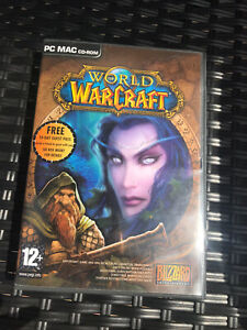 World of Warcraft Windows PC MAC CD-ROM 10 Discs Included