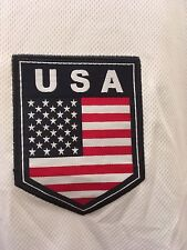 8b4b6a8a9be USA United States Soccer Jersey Rhinox Licensed White Red Blue Dri Fit Size  XL