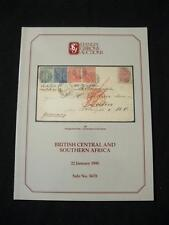 STANLEY GIBBONSAUCTION CATALOGUE 1990 BRITISH CENTRAL & SOUTHERN AFRICA