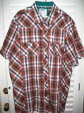 Western Style ROCAWEAR DENIM COMPANY Cotton Short Sleeve Button Down Shirt- 3XL