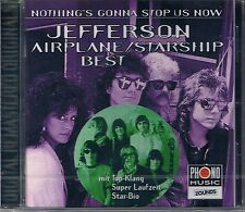 Jefferson Airplane Nothing's Gonna Stop Us Now (Best) Zounds CD Neu OVP Sealed