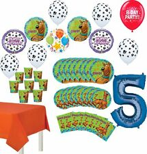Scooby Doo Party Supplies 5th Birthday 8 Guest Table Decorations and Balloon .