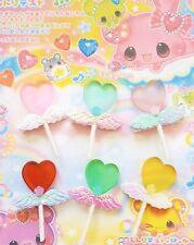 New Kawaii Cute Anime Hair Clip Hair Bow Fairy Kei  Cosplay Lollipop Heart Candy