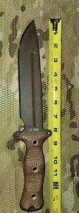 Busse Team Gemini Infi Steel Muddy Brown Combat Knife