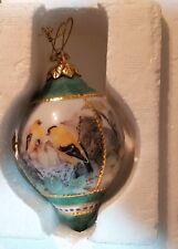 Bradford Exchange Heirloom Porcelain Bird Ornament Goldfinch Lena LiLi Beautiful